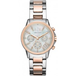 Buy Women's Armani Exchange Watch Lady Banks AX4331 Chronograph