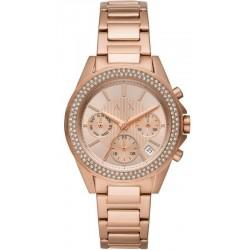 Buy Women's Armani Exchange Watch Lady Drexler AX5652 Chronograph