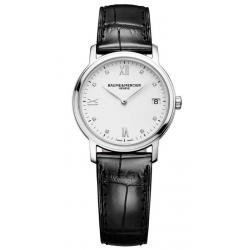 Buy Women's Baume & Mercier Watch Classima 10146 Diamonds Quartz