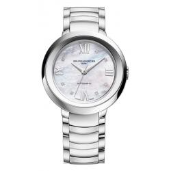 Buy Women's Baume & Mercier Watch Promesse 10162 Diamonds Mother of Pearl Automatic