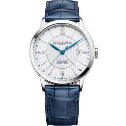 Buy Men's Baume & Mercier Watch Classima 10272 Dual Time Automatic