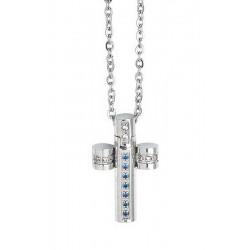 Buy Men's Boccadamo Necklace Man AGR164B Cross