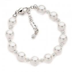 Buy Women's Boccadamo Bracelet Perle BR364 Swarovski