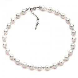 Buy Women's Boccadamo Necklace Perle GR499 Swarovski