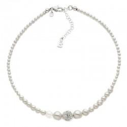 Buy Women's Boccadamo Necklace Perle GR503 Swarovski