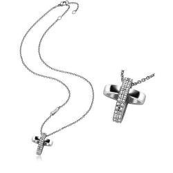 Buy Women's Breil Necklace Charming Cross TJ1460