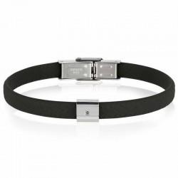 Men's Breil Bracelet Black Diamond TJ2401