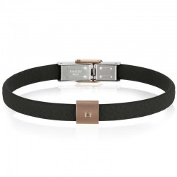Buy Mens Breil Bracelet Black Diamond TJ2403