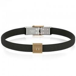Buy Mens Breil Bracelet Black Diamond TJ2405