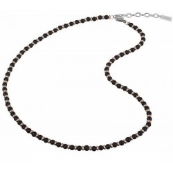Buy Mens Breil Necklace Black Onyx TJ2410