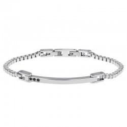 Buy Men's Breil Bracelet Black Diamond TJ2744