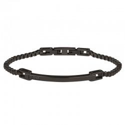 Buy Men's Breil Bracelet Black Diamond TJ2746