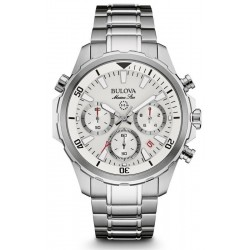 Buy Men's Bulova Watch Marine Star 96B255 Quartz Chronograph