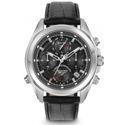 Buy Men's Bulova Watch Dress Precisionist 4 Eye 96B259 Quartz Chronograph