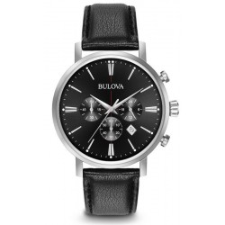 Buy Men's Bulova Watch Aerojet 96B262 Quartz Chronograph