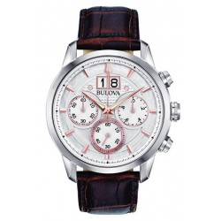 Buy Men's Bulova Watch Sutton Classic 96B309 Quartz Chronograph