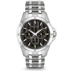 Buy Men's Bulova Watch Dress 96C107 Multifunction Quartz