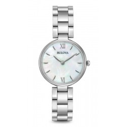 Buy Women's Bulova Watch Dress 96L229 Mother of Pearl Quartz