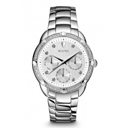 Buy Women's Bulova Watch Diamonds 96S152 Quartz