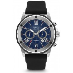 Buy Men's Bulova Watch Marine Star 98B258 Quartz Chronograph