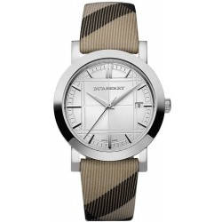 Buy Unisex Burberry Watch The City Nova Check BU1390