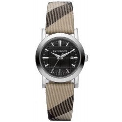 Women's Burberry Watch The City Nova Check BU1773