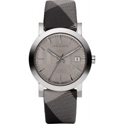 Buy Unisex Burberry Watch The City Nova Check BU1774