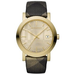 Buy Unisex Burberry Watch The City Nova Check BU1874