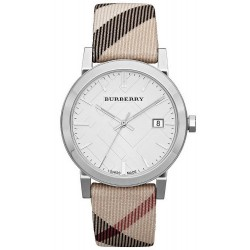 Buy Unisex Burberry Watch The City Nova Check BU9022