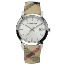 Buy Unisex Burberry Watch The City Nova Check BU9025