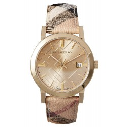 Buy Unisex Burberry Watch The City Nova Check BU9026