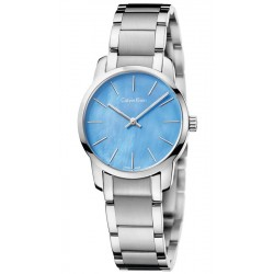 Buy Women's Calvin Klein Watch City K2G2314X Mother of Pearl