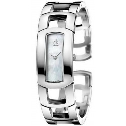 Buy Women's Calvin Klein Watch Dress Middle K3Y2M11G Mother of Pearl