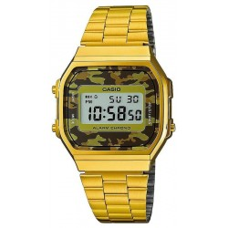 Buy Casio Vintage Unisex Watch A168WEGC-5EF