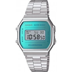 Buy Casio Vintage Unisex Watch A168WEM-2EF