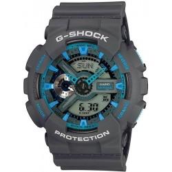 Casio G-Shock Men's Watch GA-110TS-8A2ER Multifunction Ana-Digi