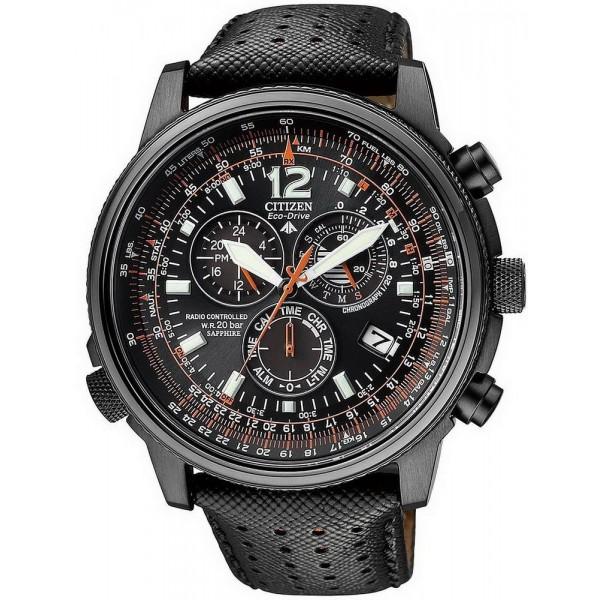 Buy Men's Citizen Watch Chrono Eco-Drive Radio Controlled AS4025-08E