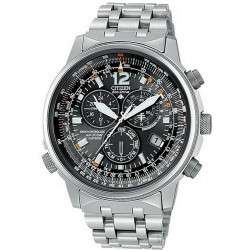 Buy Men's Citizen Watch Chrono Eco-Drive Radio Controlled Titanium AS4050-51E