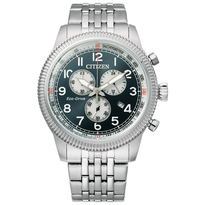 Men S Citizen Watch Aviator Chrono Eco Drive At2460 89l Crivelli Shopping