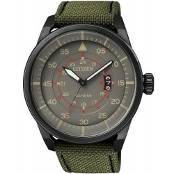 Buy Men's Citizen Watch Aviator Eco-Drive AW1365-01H