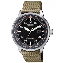 Buy Men's Citizen Watch Aviator Eco-Drive BM7390-14E