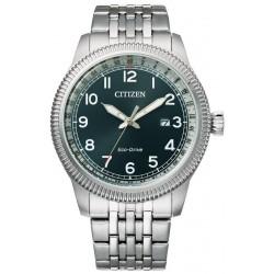 Buy Mens Citizen Watch Aviator Eco Drive BM7480-81L