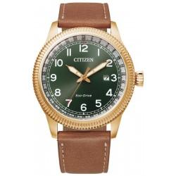 Buy Mens Citizen Watch Aviator Eco Drive BM7483-15X