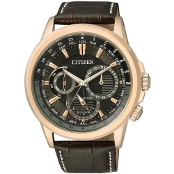 Buy Men's Citizen Watch Calendrier Eco-Drive BU2023-12E Multifunction