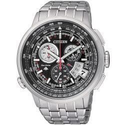 Men's Citizen Watch Radio Controlled Chrono Pilot Evolution 5 Titanium BY0011-50F