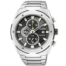Buy Men's Citizen Watch Chrono Eco-Drive CA0155-57E