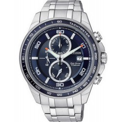 Men's Citizen Watch Super Titanium Chrono Eco-Drive CA0345-51L