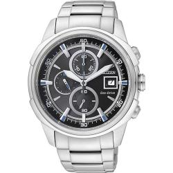 Buy Men's Citizen Watch Chrono Eco-Drive CA0370-54E