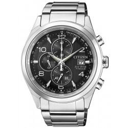 Men's Citizen Watch Super Titanium Chrono Eco-Drive CA0650-82E