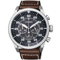 Buy Men's Citizen Watch Aviator Chrono Eco-Drive CA4210-16E